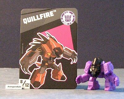 Transformers Tiny Titans Series 2 Robots in Disguise 8/12 Quillfire