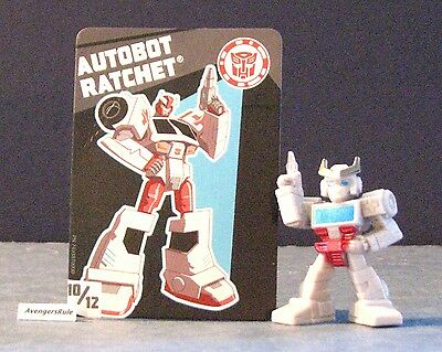 Transformers Tiny Titans Series 2 Robots in Disguise 10/12 Autobot Ratchet