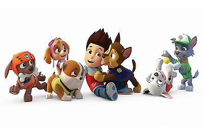 PAW PATROL HERO kids bedroom Giant Large Wall Art Poster PPL04 A0 A1,A2,A3,A4