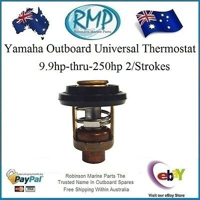 A Brand New Yamaha Outboard Motor Thermostat 9.9hp- thru- 250hp # 6E5-12411-20