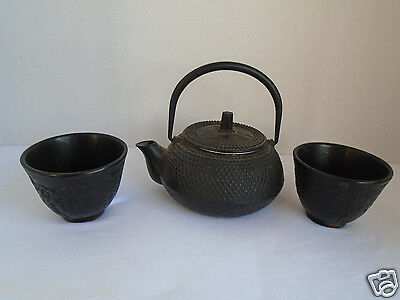 Vintage Cast Iron Japanese Tea Kettle
