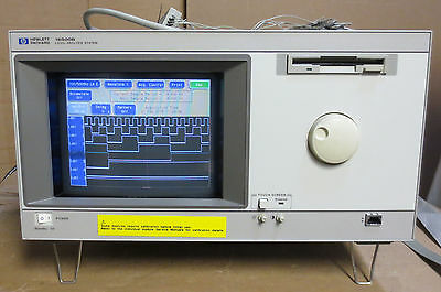 HP 16500B Logic Analysis System with 16517A, 16520A & 16550A Modules - Working