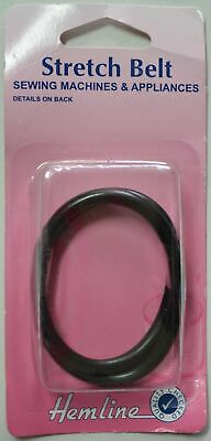 Hemline Stretch Belt For Sewing Machines & Appliances, Black