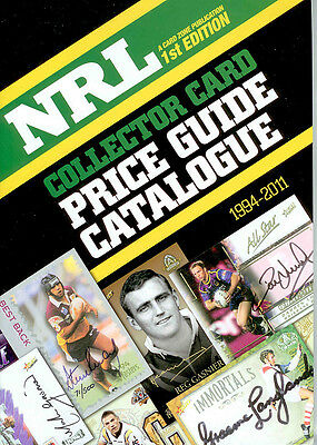 * NRL Collector Card Price Guide (1994-2011)-NEW