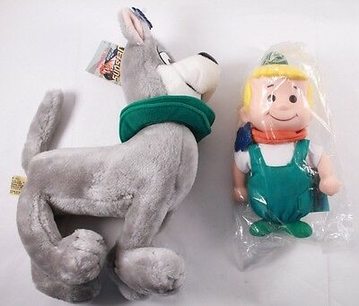 1990 Jetsons Lot Plush ELROY & ASTRO Applause Inc. New With Tags