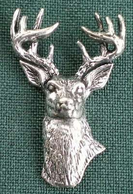 WEISSWEDEL ANSTECKNADEL PIN A22 WHITETAILET DEER