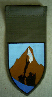 "80th ""Edom"" Division   Israel Tag Patch"