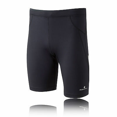 Ronhill Advance Contour Mens Black Breathable Sports Running Bottoms Shorts