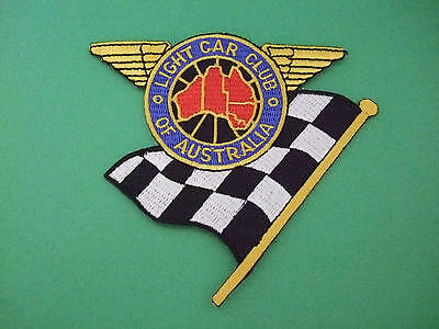 Embroidered Patch - Light Car Club Of Australia