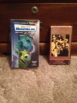 Monsters, Inc VHS & Son Of Paleface VHS