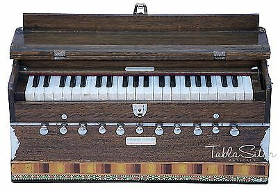 HARMONIUM No.5600w|MAHARAJA|A440|11S|WALNUT COLOR|COUPLER|42KEY|PRO|BOOK|BFH-2