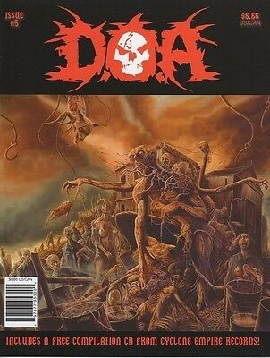 D.O.A. Magazine - Issue #5 * incl. Free Cyclone Empire-Label Comp.CD!
