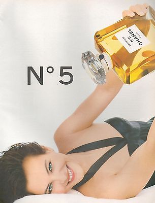 ▬► PUBLICITE ADVERTISING PARFUM PERFUME Parfum  CHANEL N°5  1994