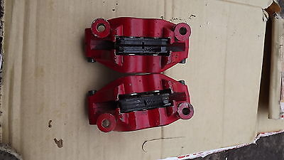 wk125 wk 125 sports front brake calipers with pads usd model ,only 230miles