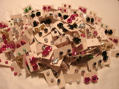 Wholesale Lot 50 Pairs Stud Earrings **** Free Shipping*******