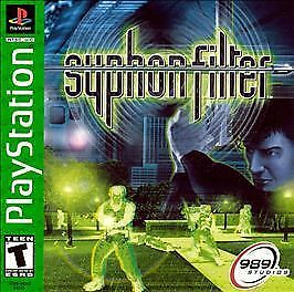 SYPHON FILTER - PS1 PS2 COMPLETE PLAYSTATION GAME!
