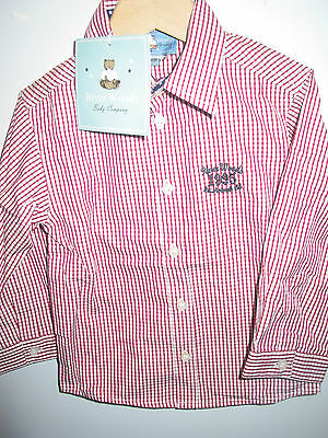 """ RIVER WOODS baby company "" chemise lm NEUVE  t : 18m"