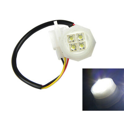1 White LED Hide-Away Strobe Tube Headlight Replacement Spare Bulbs 120 180W