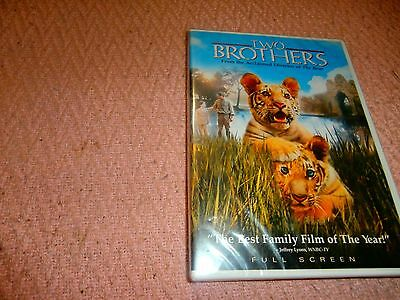 TWO BROTHERS DVD NEW PG Children family