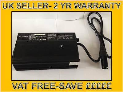 24v 8AMP MOBILITY SCOOTER WHEELCHAIR BATTERY CHARGER 45AH 50AH  75AH BATTERIES