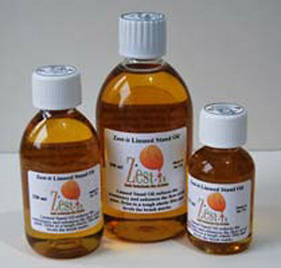 Zest It - Linseed Stand Oil - 125ml, 250ml, 500ml, 1 Litre