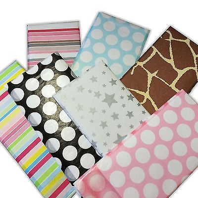 Luxury Patterned Tissue Paper Sheets - 10 Designs Large 500 x 750mm Wrapping