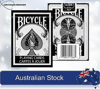 Silver Edition Bicycle Poker Playing Cards Deck Rare Brand New & Sealed