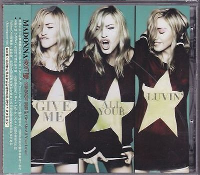 MADONNA Give Me All Your Luvin EP Remix CD 7-Track NEW Free Shipping Worldwide