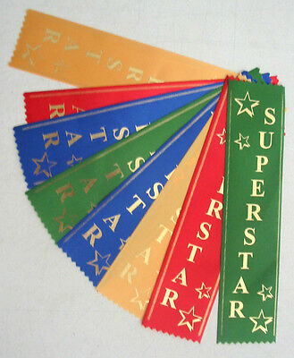 Super Star Award Ribbons