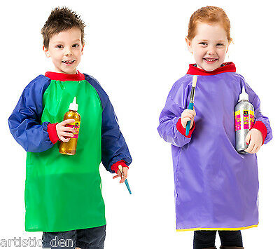 Kids Art Smock High Quality Junior Art Smock ages 2-4 Or 5-8 art smock art apron