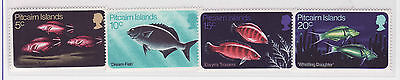 Pitcairn Islands fish stamps