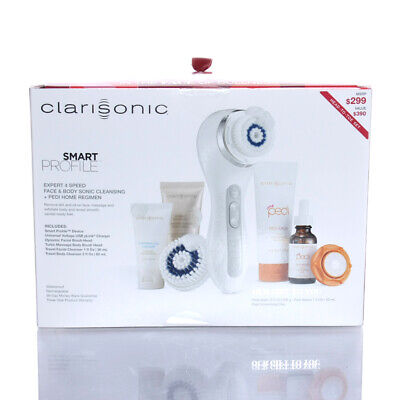 Clarisonic Smart Profile Sonic Cleannsing system w/ FREE Pedi Smoothing Disc