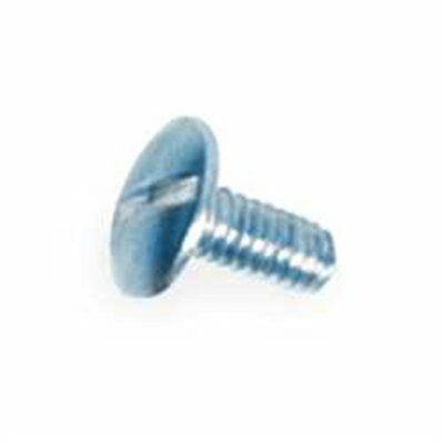 """Concho Screws 3/8"""" (1 cm) Nickel Plated 10/pk Tandy Leather 1295-00"""