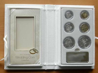 2012 AUSTRALIAN WEDDING 6 COIN PROOF COLLECTION -  ISSUE PRICE $120
