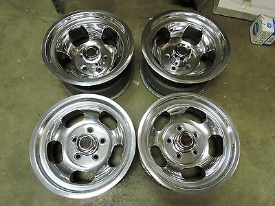 VINTAGE SLOT MAG WHEELS 5on5 CHEVY VAN BLAZER TRUCK MAGS GMC PICK-UP PONTIAC