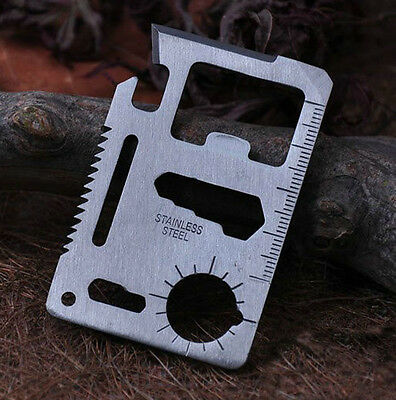 11 In 1 Multi Function Camping 420C 57HRC Outdoor Survival Hunting Knife