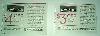 Red Lobster $3.00 Lunch & $4.00 Dinner Ten Expires 4/25/15 25 April 2015 coupon