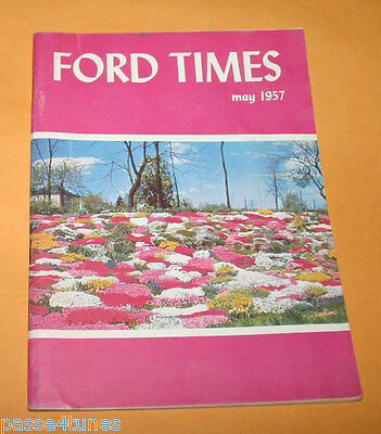 Ford Times The Ford Owners Magazine 1957 May US 222 Lancaster Co Pensylvania