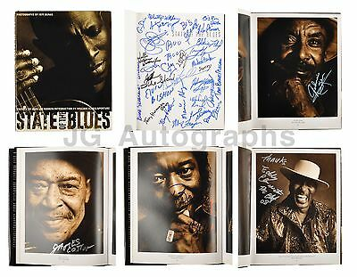"Blues Legends - Autographed ""State of the Blues"" Book - Signed by 50"