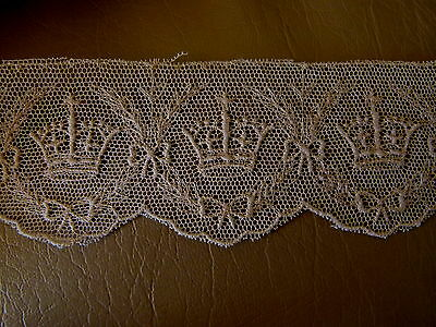 1937 KINGS CROWN NEEDLE WORKEDLACE KING GEORGE 6TH 1930.S COLLECTABLE HISTORY