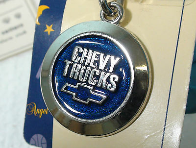 New Made in USA Vintage Chevy Trucks Emblem Keychain