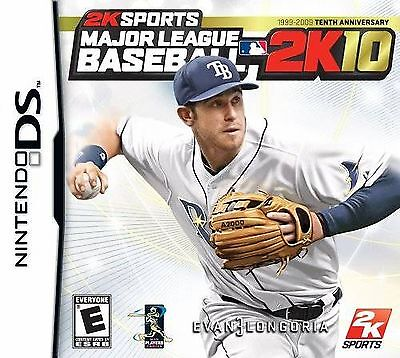 NINTENDO DS *** Major League Baseball 2K10 *** SEALED Brand NEW!