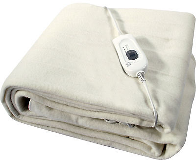 New Single / Double / King Size Electric Washable Heated Under Blanket Control