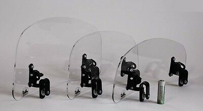 Wind screen deflector clear windshield windscreen HIGH motorcycle motorbike
