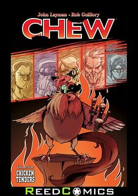 CHEW VOLUME 9 CHICKEN TENDERS GRAPHIC NOVEL New Paperback Collects Issues #41-45