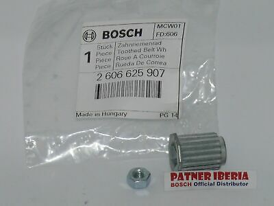 2606625907 Toothed Belt Wheel BOSCH-SKIL-DREMEL (locate your machine bellow)