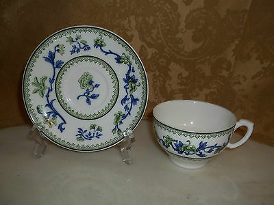 Royal Worcester A.T. Wiley Montreal Teacup/Tea Cup & Saucer Excellent Condition