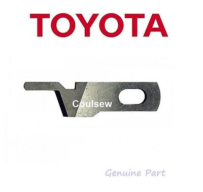 Toyota Genuine Overlocker Upper Top Knife/blade Sl3335, Sl3487 Sl1T-X