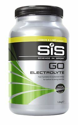 Science in Sport GO Electrolyte 1.6kg Hydration Sustained Energy Drink Mix Lemon