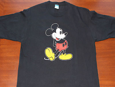 Mickey Mouse Authentic Disney vintage black t-shirt Medium